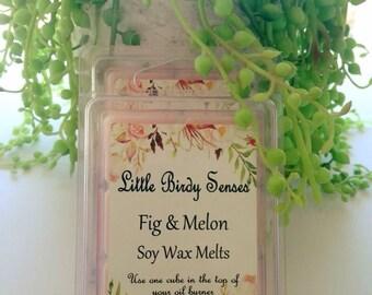 Fig & Melon Soy Wax Melts