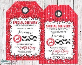 Printable christmas gift tags blank from santa gift tags printable christmas gift tags from santa gift tags personalized santa gift tags special negle