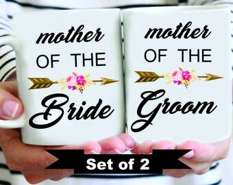 Custom Mother of the Bride Mother of the Groom Mugs, Mother of Bride Mug,  Mother of Groom, Mother of Bride Mug, Mother of the Groom Mug