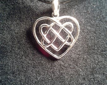 Sterling silver Heart charm (22)