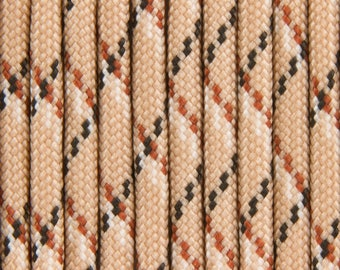 """""""Desert camo"""" Paracord 4mm by 30 meters"""