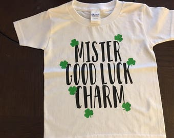 Mister Good Luck Charm Tee