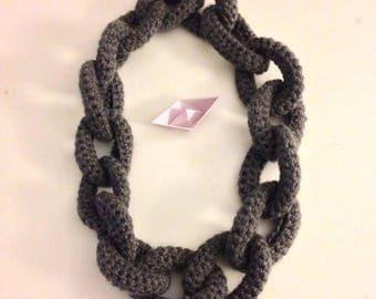 Neck Crochet Chain