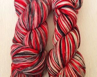 Indie Dyed Yarn, Hand Dyed Yarn, Geek Sock Yarn, Fingering Yarn, DK Yarn, Indie Dyed Geek Yarn, Indie Hand Dyed Yarn | Mission Compliant