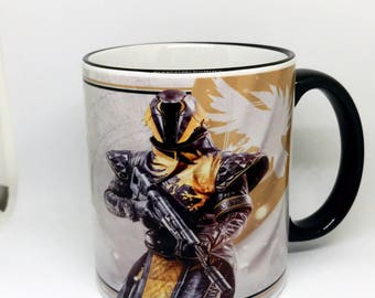 Custom Made Destiny 2 The Warlock Coffee Mug 15oz and 11oz Personalized