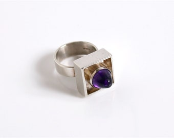 Danish Vintage N E From Ring