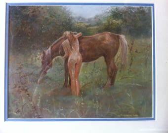 original atmospheric pastel paintings