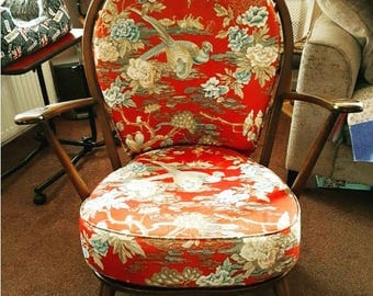 Ercol Arm Chair Original Scandinavian Retro