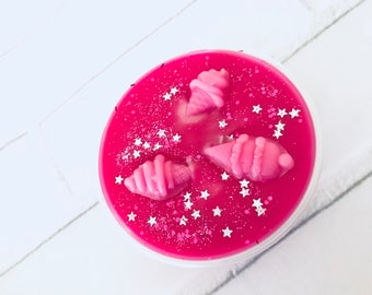 Oh My, Yummy (Lush Inspired) Scented Soy Wax 2oz Shot Pot Melt For Wax Warmers / Gift