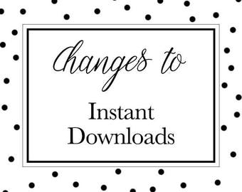 Changes to Instant Downloads