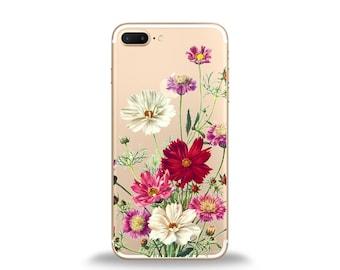 Floral phone case, floral iphone case, floral cases, cute iphone cases, iphone 6 case, samsung phone case, silicone phone case, htc case, lg