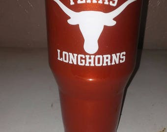 Texas Longhorns Candy Ozark Tumbler