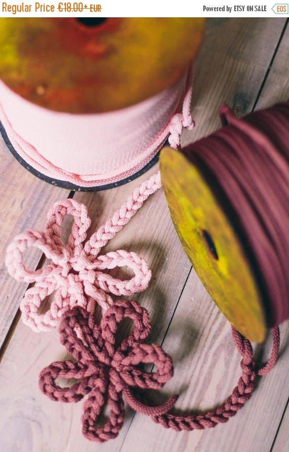 SALE 30 % Bulky yarn/ Chunky yarn/ pink yarn/ diy crafts/ craft projects/ crochet rope/ crochet supplies/ macrame cord/ rope yarn cord #42 #