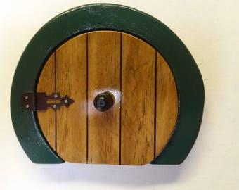 Handmade Wooden Hobbit Door - Small