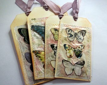 Butterfly tag set 25
