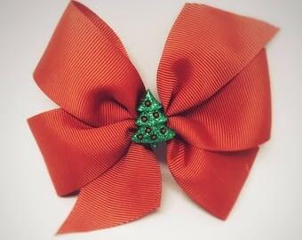 Christmas bow, Holiday hair bow, Christmas hair clip, holiday bow, Christmas Bows for Girls, Christmas Hair Bow, Hair Bows for Girls