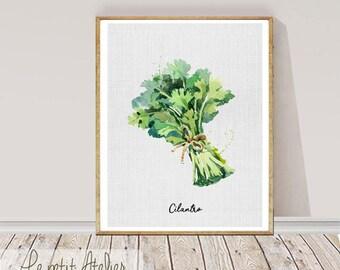 Kitchen Printable art - Kitchen - PRINTABLE Art, Herbs Wall art, Home Decor, Fashion print, Wall prints, Printable Art for Kitchen