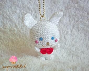 Lulu - bunny - boy - crochet plushies - keychain - plushies - amigurumi