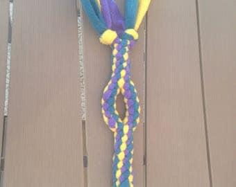 tug dog fleece tug toy Fifi / agility / flyball