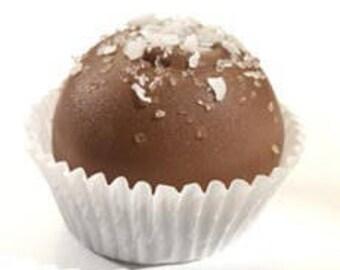 German Chocolate Cake Cheesecake Truffle