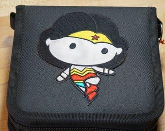 RTS Wonder Woman Superhero Inspired Trading Pin Bag (iheartpinbags.com)
