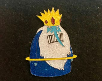 Glitter What Deaner Was Talking About / Adventure Time Ice King Pin