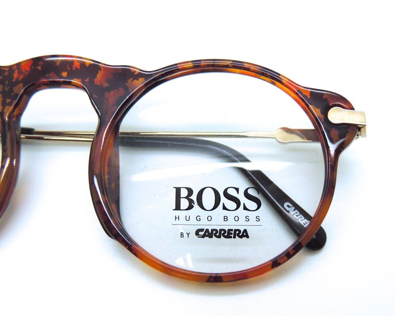 fe286ee30e Hugo BOSS by Carrera 5108 True Round Vintage Glasses Frames In Tortoiseshell  Acrylic - Brand New