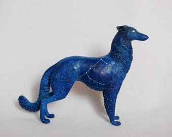 Canis Major dog constellation fantasy animal sculpture figurine