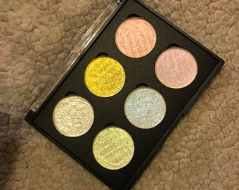 Holographic Rainbow Highlighter Glow Kit