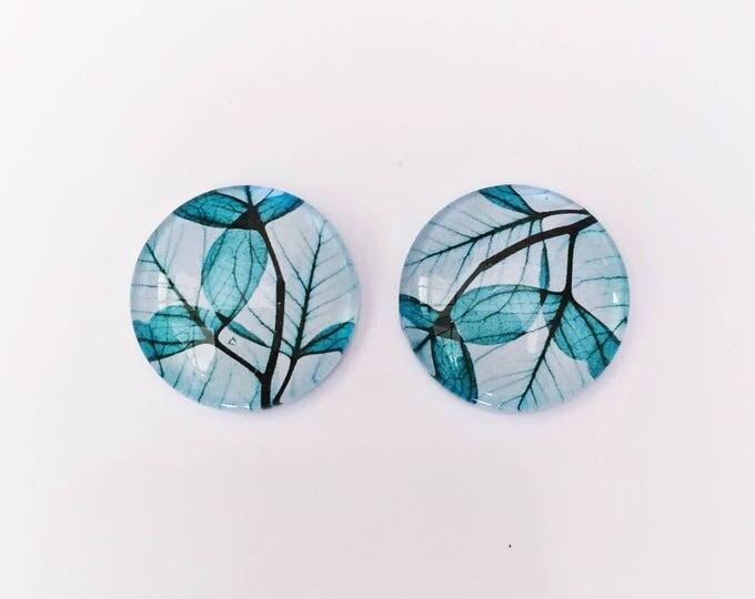 The 'Evangeline' Glass Earring Studs