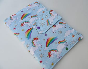 Nappy Wallet - Unicorns