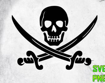PIRATE SVG for cutting machines Svg digital files Instant download cutting machine Laser engraving files Silhouette files Cameo files