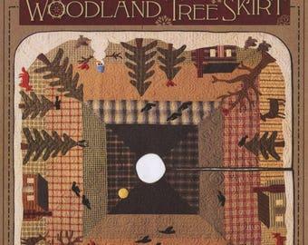 Woodland Tree Skirt Quilt Pattern