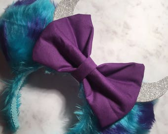 Monsters Inc inspired Sully Disney Minnie Ears