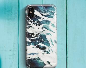 Ocean Blue Marble Phone case iPhone 8 Case iPhone 8 PLUS Case iPhone X Case iPhone 10 Case iPhone 7 Case iPhone 7 plus Case Gift