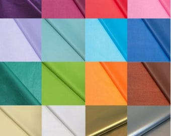 Coloured Tissue Paper - High Quality & Acid Free - 500mm x 750mm - 20 Colours