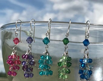 Sparkle Dangle Earrings-your choice