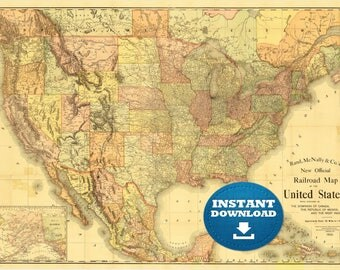 Digital old map of Chicago 1832 Instant download Large