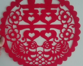 Double Happiness Sticker Decoration, Chinese Wedding,  Various designs available