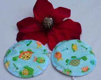 Reusable Beautiful Breast Pads. Breathable, Light, Non-slip, Heavy Absorbency Nursing Pads. *Ship Worldwide*.