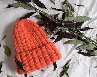 Wool Beanie [zhvachka] Sheep Wool - Knit Hat - Helsinki Hat - Wool Hat - Wool Beanie - Warm Winter Hat