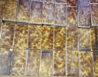 "Antique Fireplace Tile 1.5""x3"", Many Colors Available"