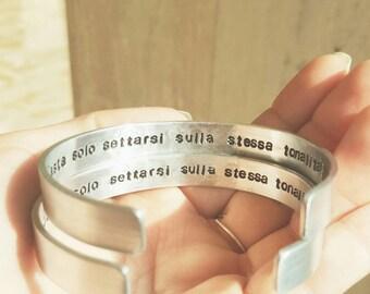 Gift IDEA Inner Engraving bracelet