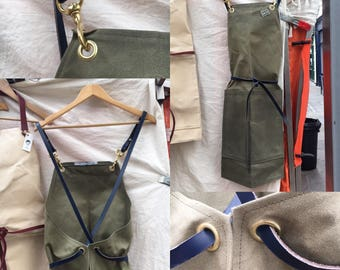Chopper V2, The Canvas Apron with Clip Straps