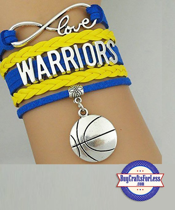 GOLDEN STaTE Warriors Bracelet, U CHOOSE Charm +Discounts & FREE Shipping*