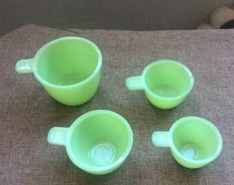 Original jadeite measuring cups (not repro)