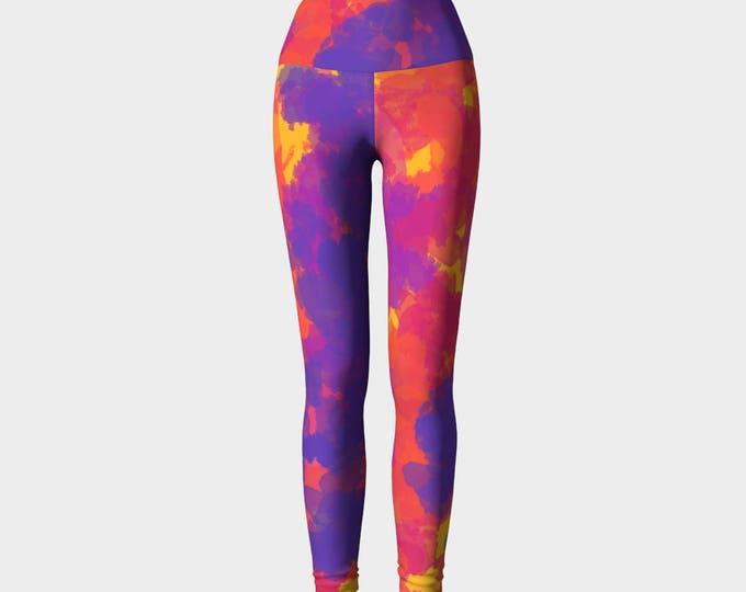 Rio Yoga Leggings, Women's Yoga Leggings, Leggings, Yoga Leggings, Yoga Pants, Printed Leggings, Gift for her