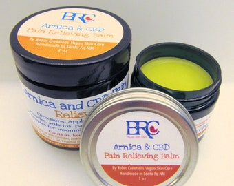 Vegan Custom Pain Relieving Balm - For Arthritis, Sore Muscles, Sprains, Aches, and so much more!