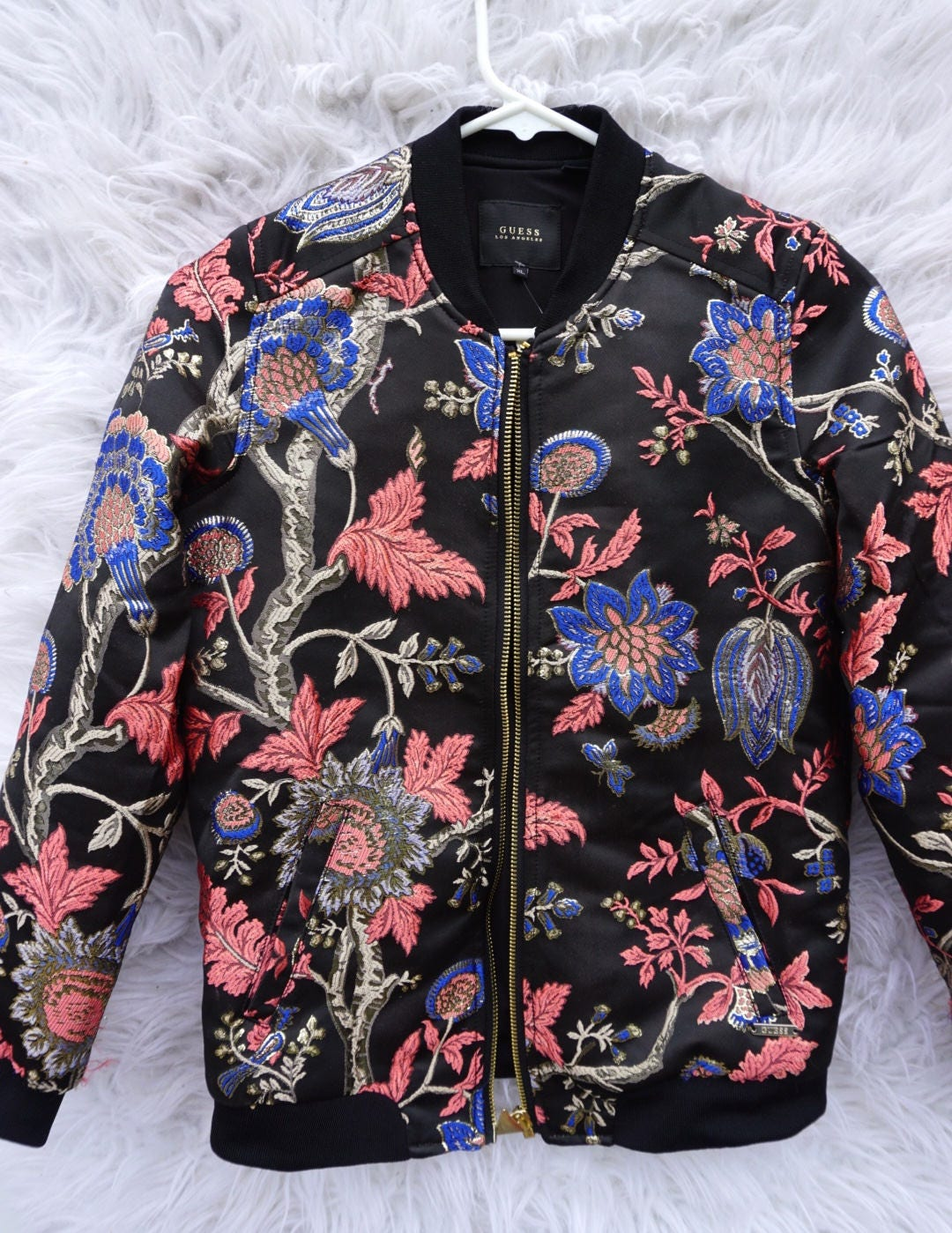 Guess los angeles bomber jacket womens