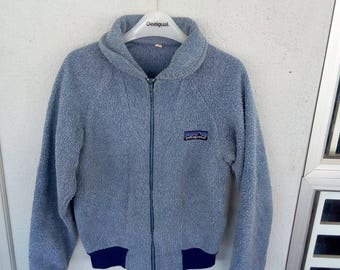 "Vintage Patagonia Fleece Jacket pit 20"" inches"